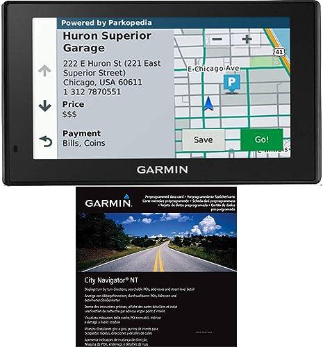 Garmin DriveSmart 51 NA LMT-S GPS w Lifetime Maps Traffic City Navigator Europe NT
