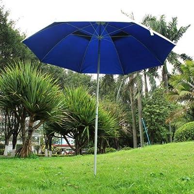 1.8m2mOutdoor sun protection garden umbrella with alu pole