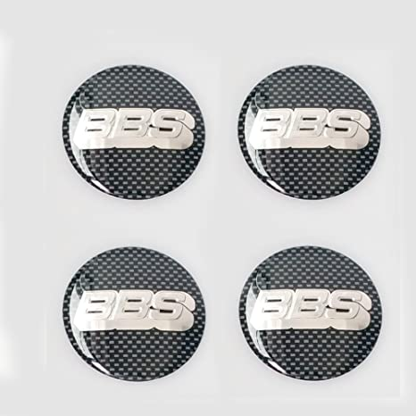 Hanway Set de 4Pcs 65 mm 3d coche automático neumático rueda Center Hub Cap Hub Cap