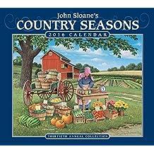 John Sloane's Country Seasons 2016 Deluxe Wall Calendar