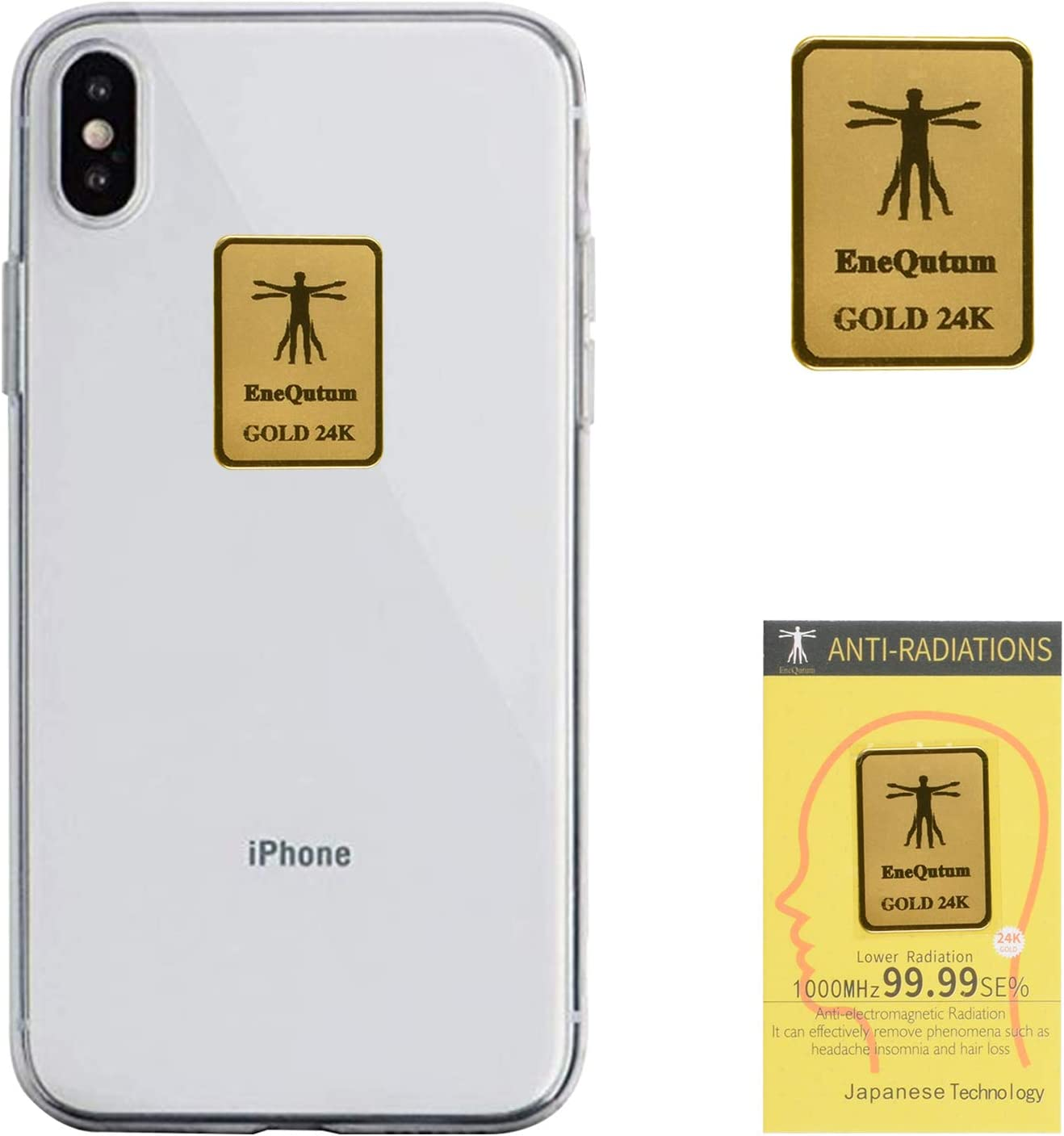 EMF Protection Cell Phone Stickers, EMR Blocker Neutralizer Device, Anti Radiation Protector Shield for All Mobile Phones, iPad iPod, MacBook, Computer, Laptop(10 Pack)