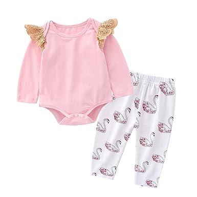 16958b95a Tem Doger Toddler Kids Baby Girls Summer Clothes Cartoon Vest T-Shirt Tops  + Short