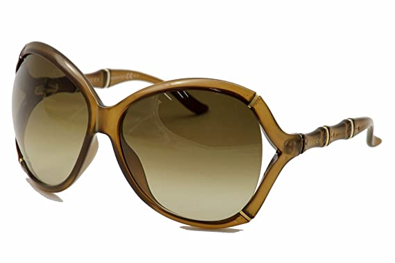 bcd89f7ca06 By Gucci-GUCCI 3509 S Collection Brown Finish Sunglasses  Amazon.co.uk   Clothing