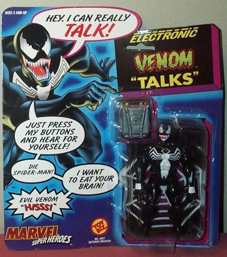 Spider-Man Electronic Venom Talking Action Figure by Marvel