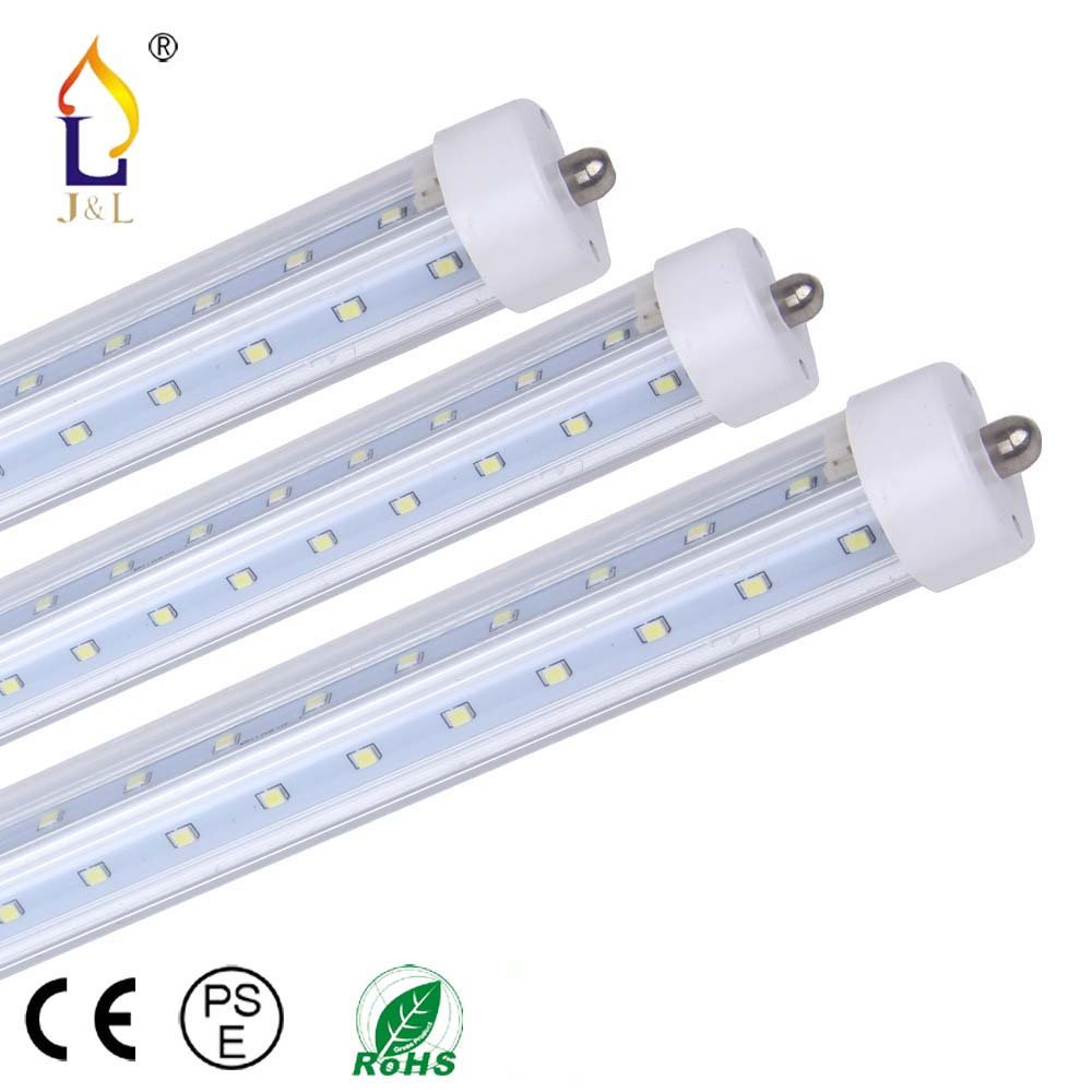 (15 PACK) 6ft 40W Led T8 V shape Tube light 70 inches Fluorescent replacement Light single pin home light Bulbs SMD2835 192LEDS for beer cooler& store room by JLLEAD