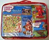 Candy Land Game Rug 39.5'' X 39.5'' With 4 Gingerbread Men Pieces