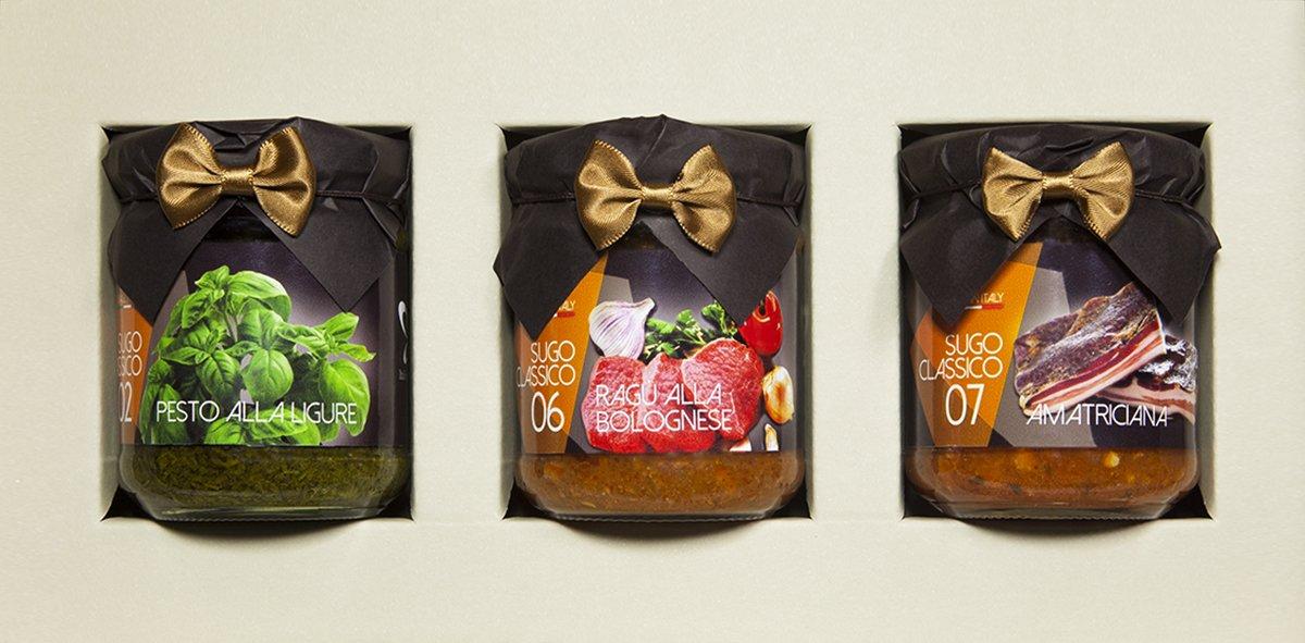 La selección de salsas clásicas italianas: Amazon.es: Alimentación y bebidas
