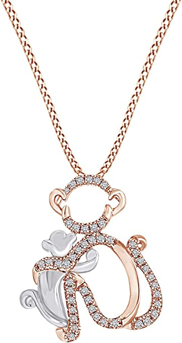 Music Note Heart Pendant Necklace With White Natural Diamond  Cyber Monday