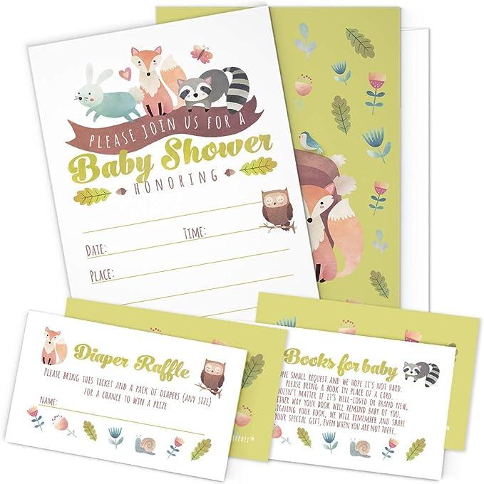 20 appliques baby girl shower baby girl bodysuit decorating kit 20 Woodland animals appliqu\u00e9s Woodland animals baby shower