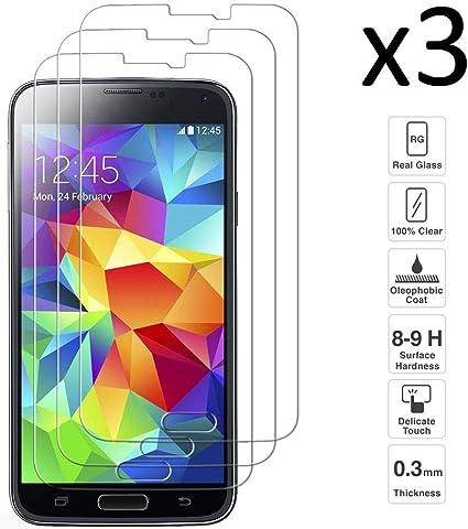 iGlobalmarket [3 Unidades Protector de Pantalla Samsung Galaxy S5 ...