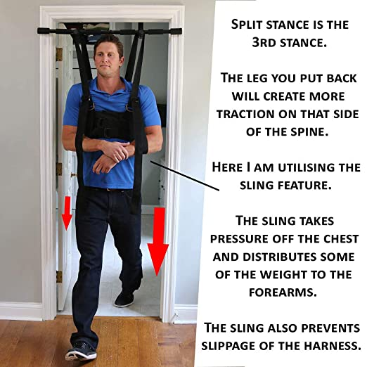 Sit and Decompress - The Ultimate Back Stretcher / Lumbar Traction -  Increase your disc space