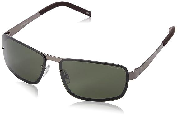 Polaroid Herren Sonnenbrille Pld 2024/S H8 N1B, Grau (Ruten Grey/Green Pz), 63