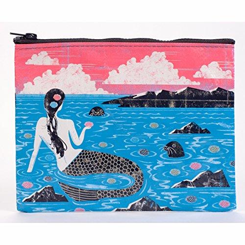 Blue Q Zipper Pouch Mermaid