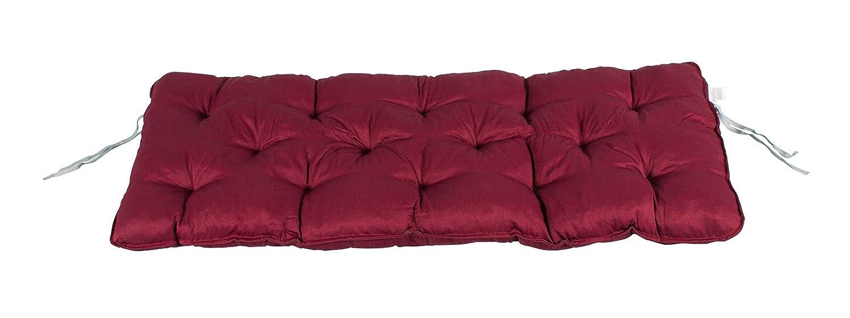 Meerweh Mare WEH cuscino per panchina da, Grigio, 120x 50x 10cm, 74074 SPABW
