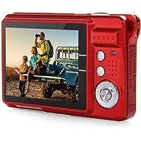 Videocamera digitale, 18 milioni di pixel Macchina fotografica digitale ad alta definizione con scheda HD Macchina con funzione di riconoscimento facciale Videoregistratore Full HD cattura sorriso