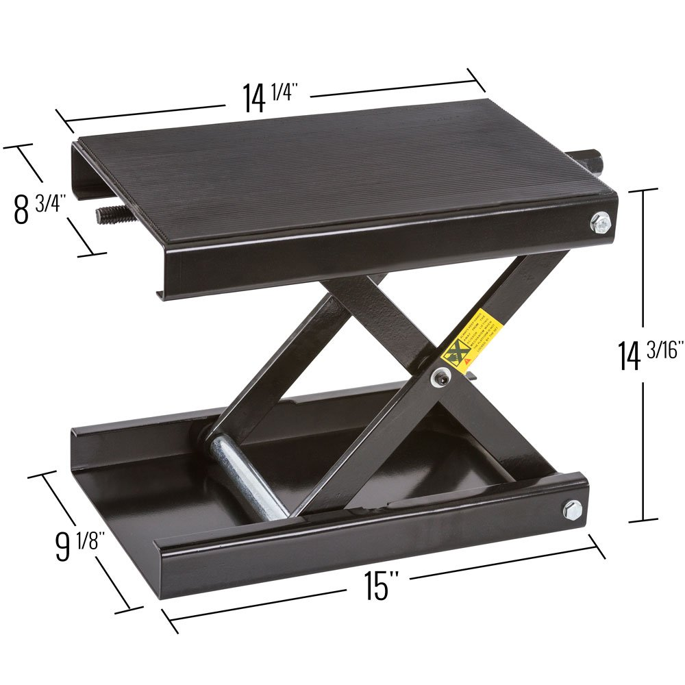 Black Widow BW-1604A Motorcycle Scissor Jack