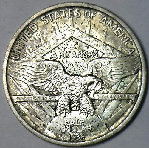 1936 P Robinson Arkansas Commemorative Half Dollar Gem Unc. ()