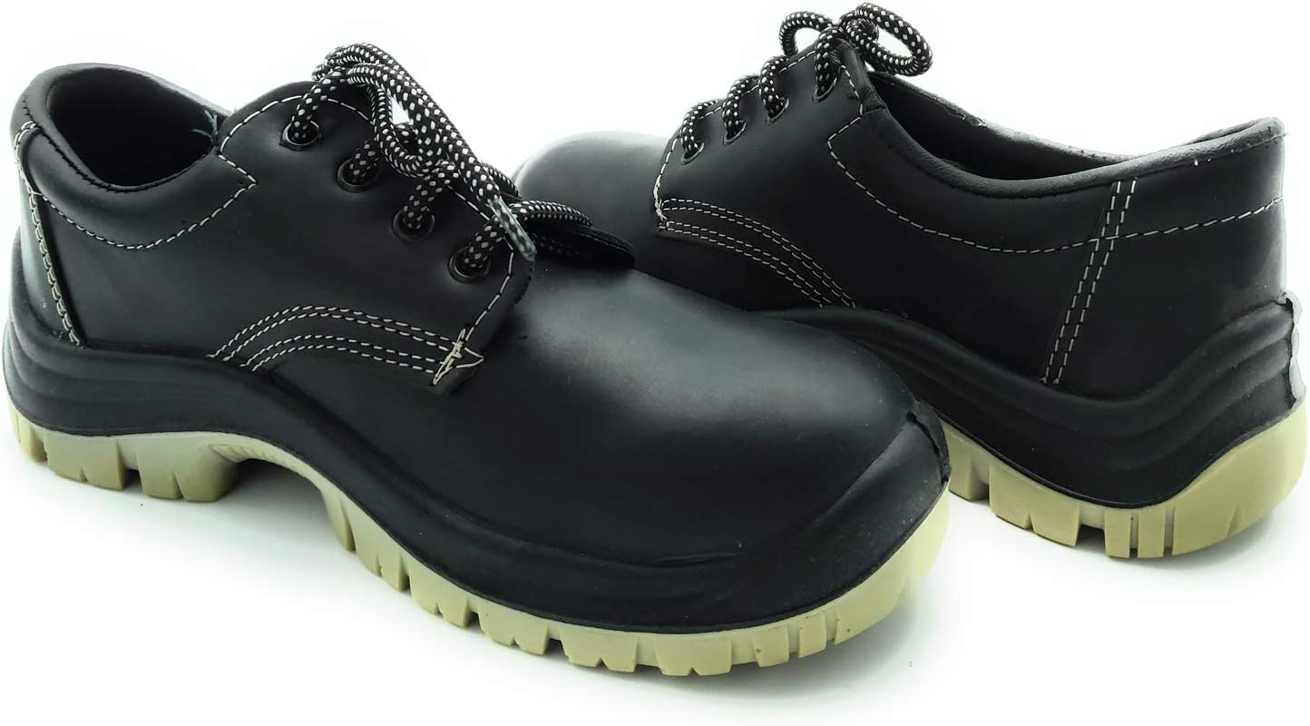 Cordones operarios Fratelli ditalia Antideslizantes Zapatos de Seguridad para Trabajo Calzado c/ómodo airbag