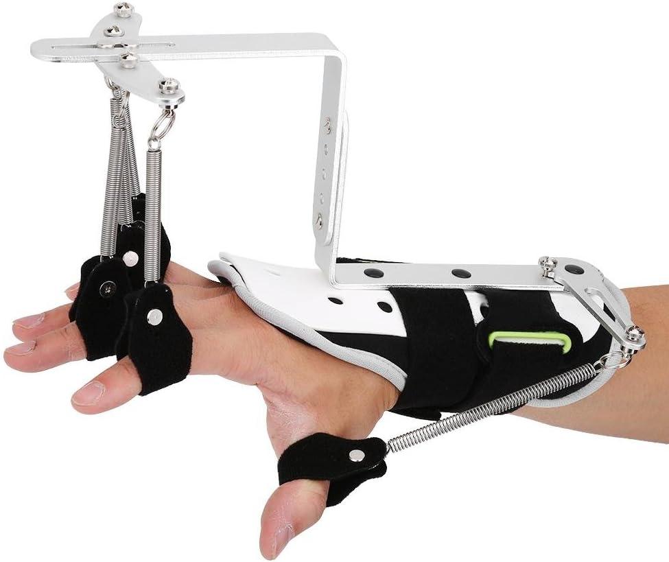 Ortesis para la rehabilitación de los dedos, aparatos ortopédicos para los dedos Trazo del diapasón Férula para las manos Soporte de entrenamiento Férula para los dedos ajustable para pacientes con he