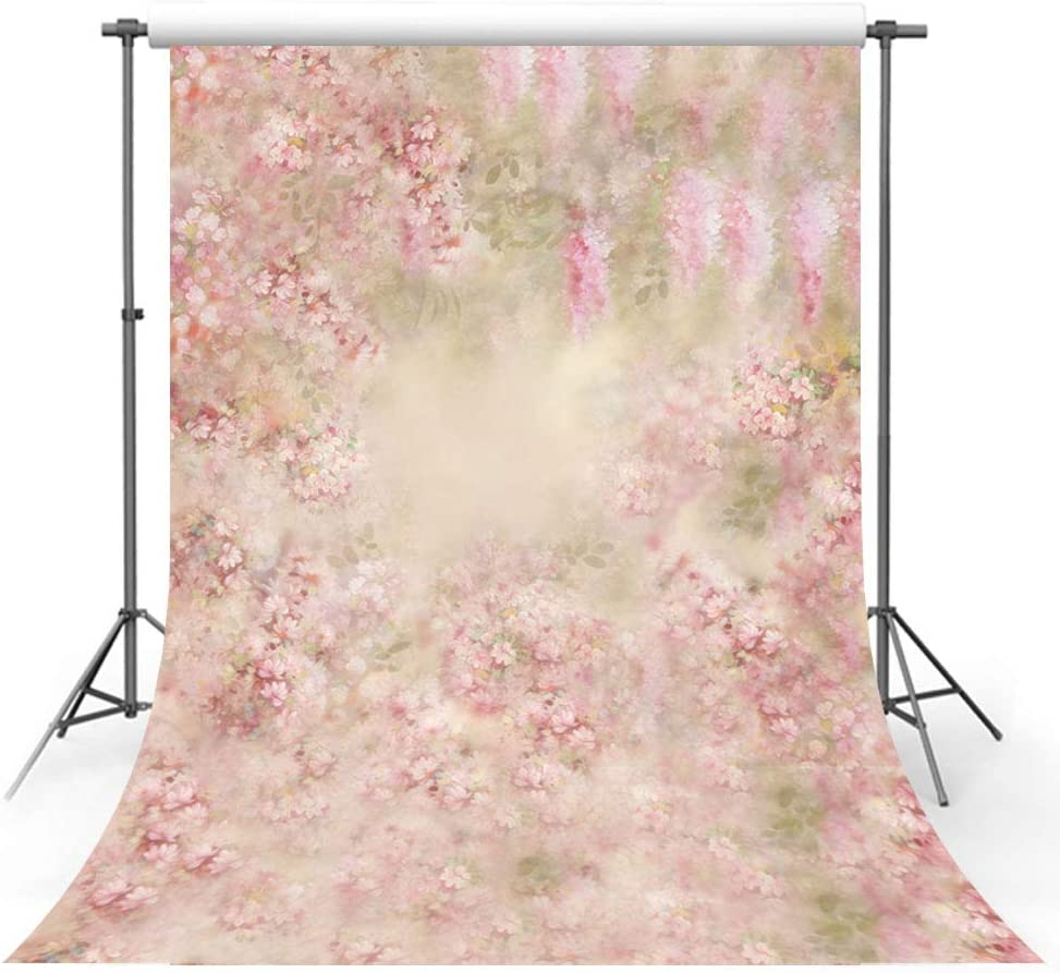 Flower Wall Floor Vinyl Photography Backdrops Photo Studio Background Prop 6×9ft