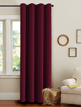 Amazon.com: H.Versailtex Window Treatment Thermal Insulated Solid ...
