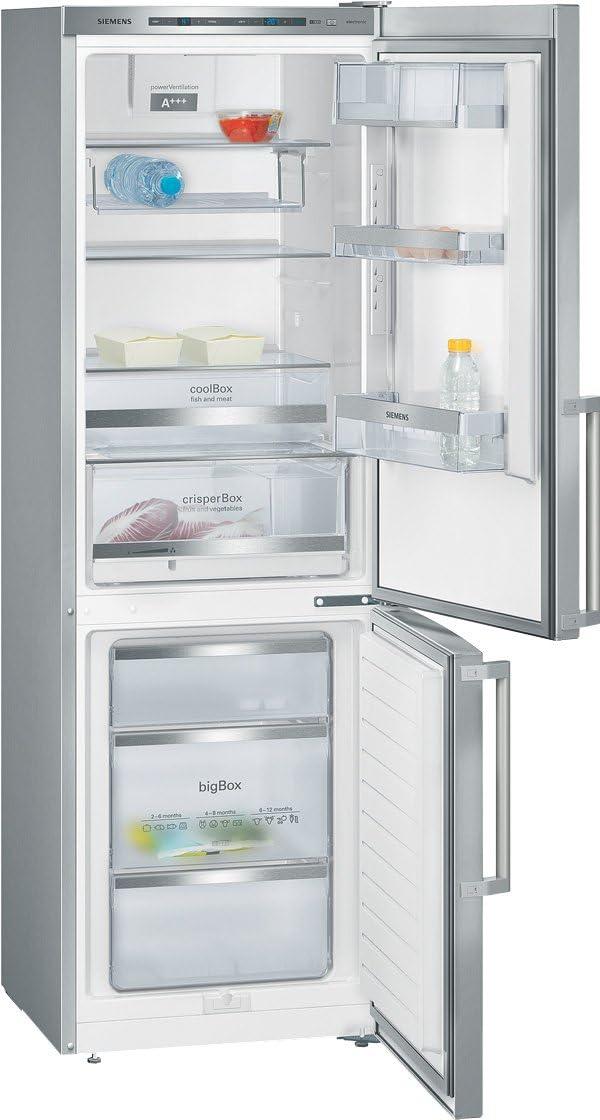 Siemens KG36EAI40 congeladora - Frigorífico (Independiente, Acero ...