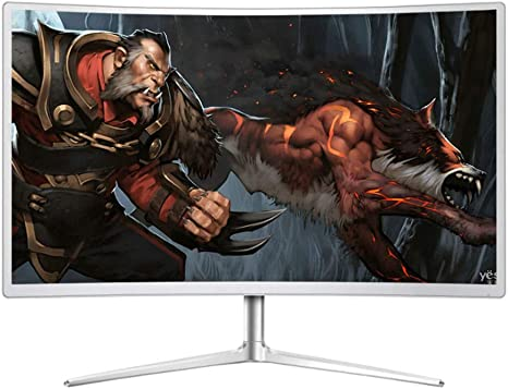 WANG XIN Pantalla de Pantalla Curva Pantalla de Juego LCD HDMI de computadora de 27 Pulgadas: Amazon.es: Deportes y aire libre