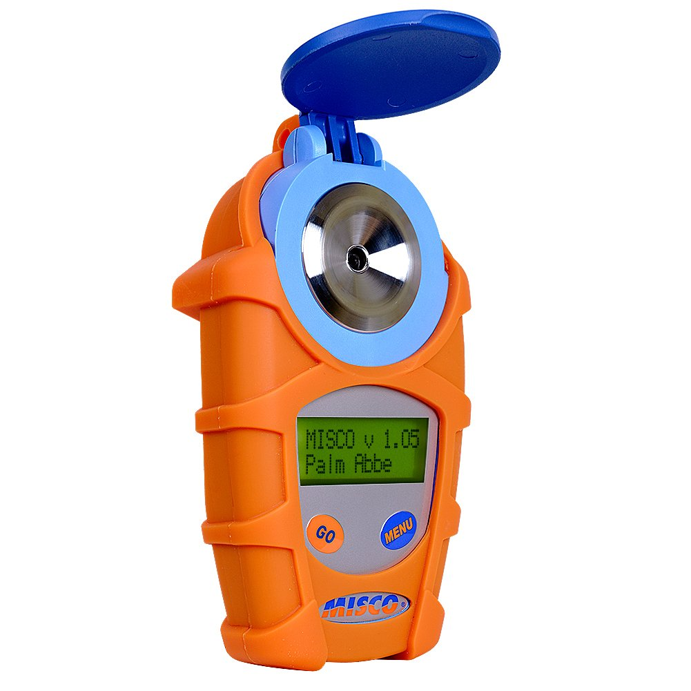 Freeze Point Fahrenheit MISCO Palm Abbe Digital Handheld Refractometer Glycerine Scales Concentration