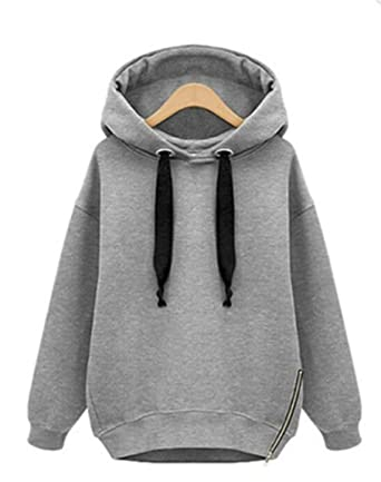 Amazon.com: Blackpink Poleron Mujer New Oversized Hoodies Women Warm Sweatshirts Green Side Zipper Hoodie Long Sleeve: Clothing