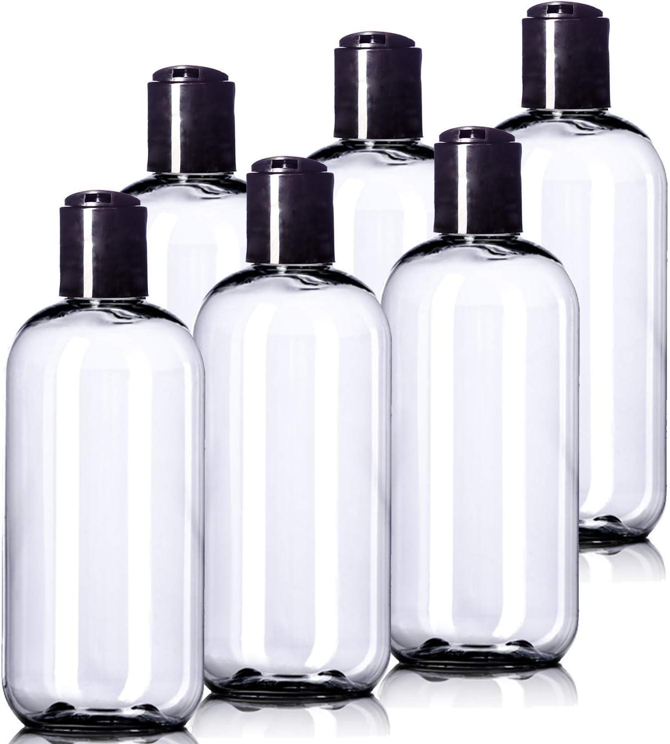 Aromine 8oz Plastic Clear Bottles
