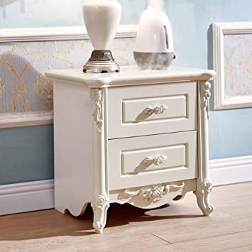 1314fb0556 GFYRHCGDFHJDGVF European Simple Bedside Cabinet [lockers] White Anti-Fading nightstand  Bedside Cabinet Bedroom