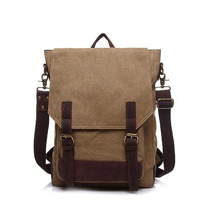 63a3ffaba8af Amazon.com: Xiejuanjuan Men's Handbags Men's Shoulder Bag Can Be ...