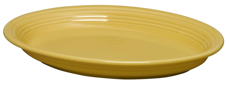 Fiesta 13-5/8-Inch Oval Platter, Sunflower