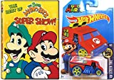 The Best of the Super Mario Bros Super Show! w/ Hot Wheels Cool One Super Mario Car 1:64 Die Cast Car