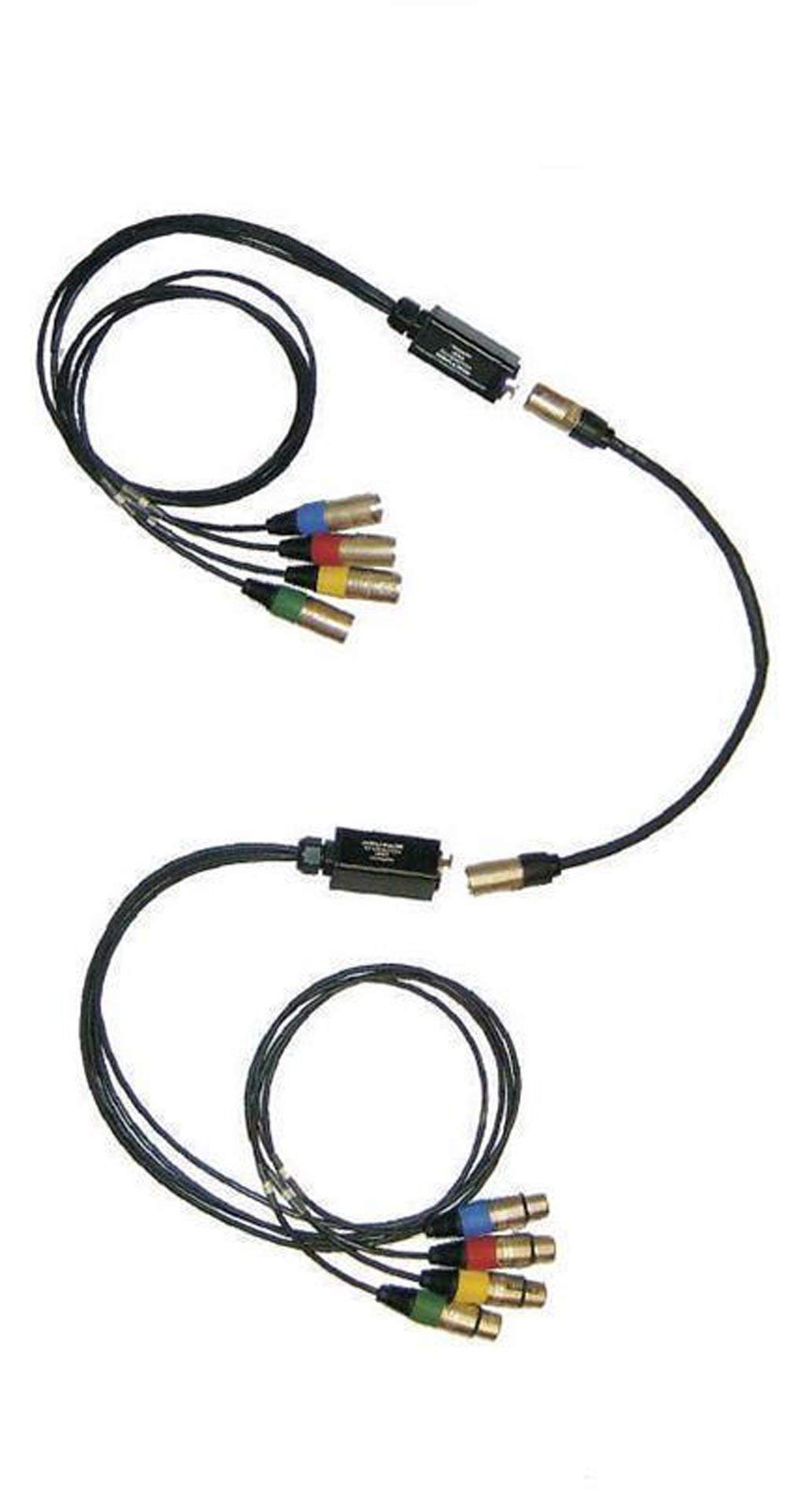 Other brand 2 Digital Snakes Converts DMX - Cat5 Includes (4) 3 Pin Female (4) 3 Pin Male by Other brand