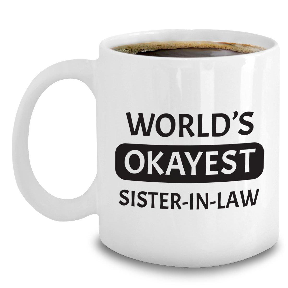 Amazon Okayest Sister In Law Mug
