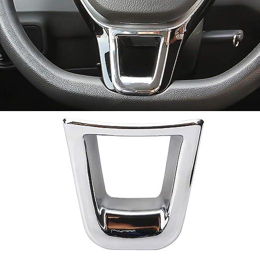 Senzeal Adhesivo Decorativo para Volante de Coche, ABS, para VW Golf MK7 GT Match S SV SE, Accesorios para Interior de Coche