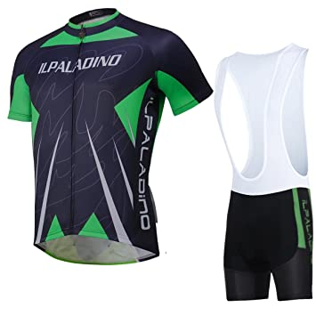 3a964fe5a XY-QXZB Cycling Jersey Tops with Bib Tights Shorts Soft Polyester Fabric  Quick Dry Breathable