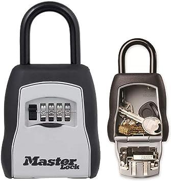 MASTER LOCK Caja fuerte para llaves [Mediana] [Con arco] - 5400EURD - Caja de seguridad: Amazon.es: Hogar