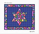 Tallit Stained Glass Needlepoint Kit