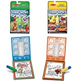 Melissa & Doug On the Go Water Wow! Water Reveal Pads, Set of 2: Vehicles and Animals