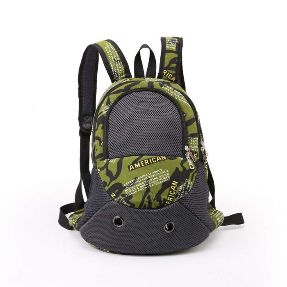 Army green 32X16X43cm army green 32X16X43cm ZIOFV Package Portable Mesh Dog Carrier Bag Pet Backpacks Breathable Small Cute Dogs Cats Animals Shoulder Bag