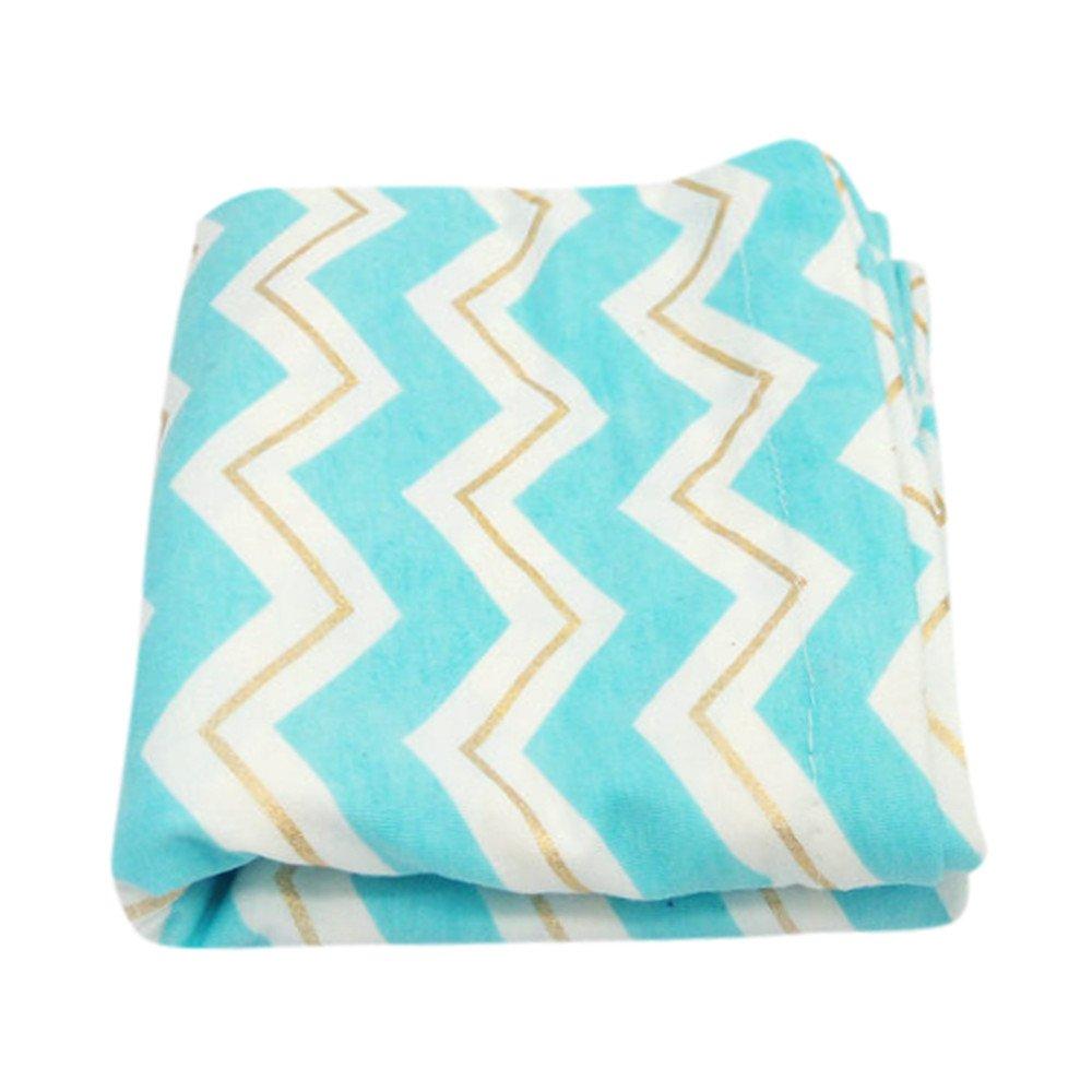 Weiliru Baby Breast Feeding Mum Stripe Cotton Nursing Udder Apron Shawl Cloth,Convenient for Feeding Baby