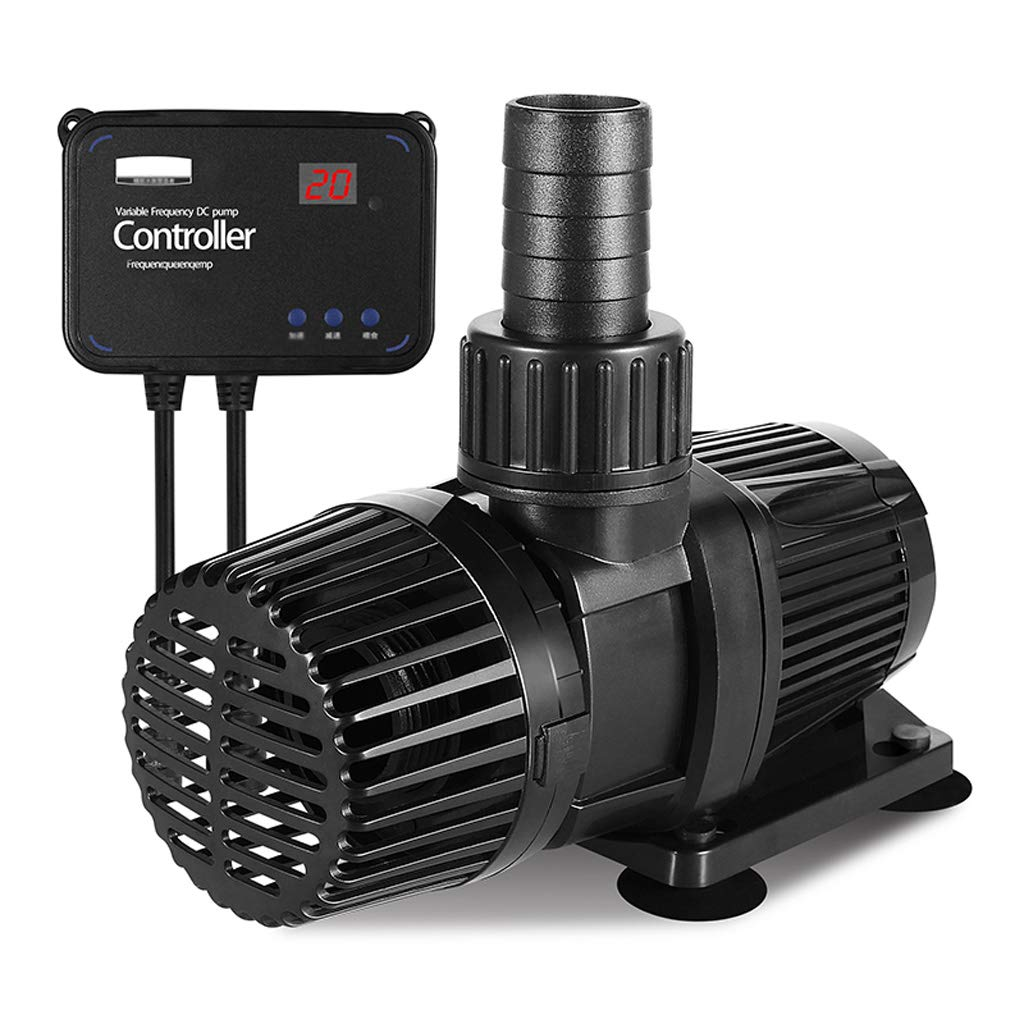 35W Three-Phase Frequency Conversion DC Water Pump Silent Pump 24V Adjustable Flow Size Fish Tank Aquarium Water Pump (Size   35W)