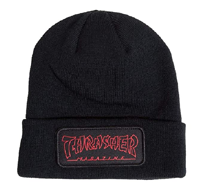 e62f83cc041 Image Unavailable. Image not available for. Color  Thrasher China Banks Patch  Beanie