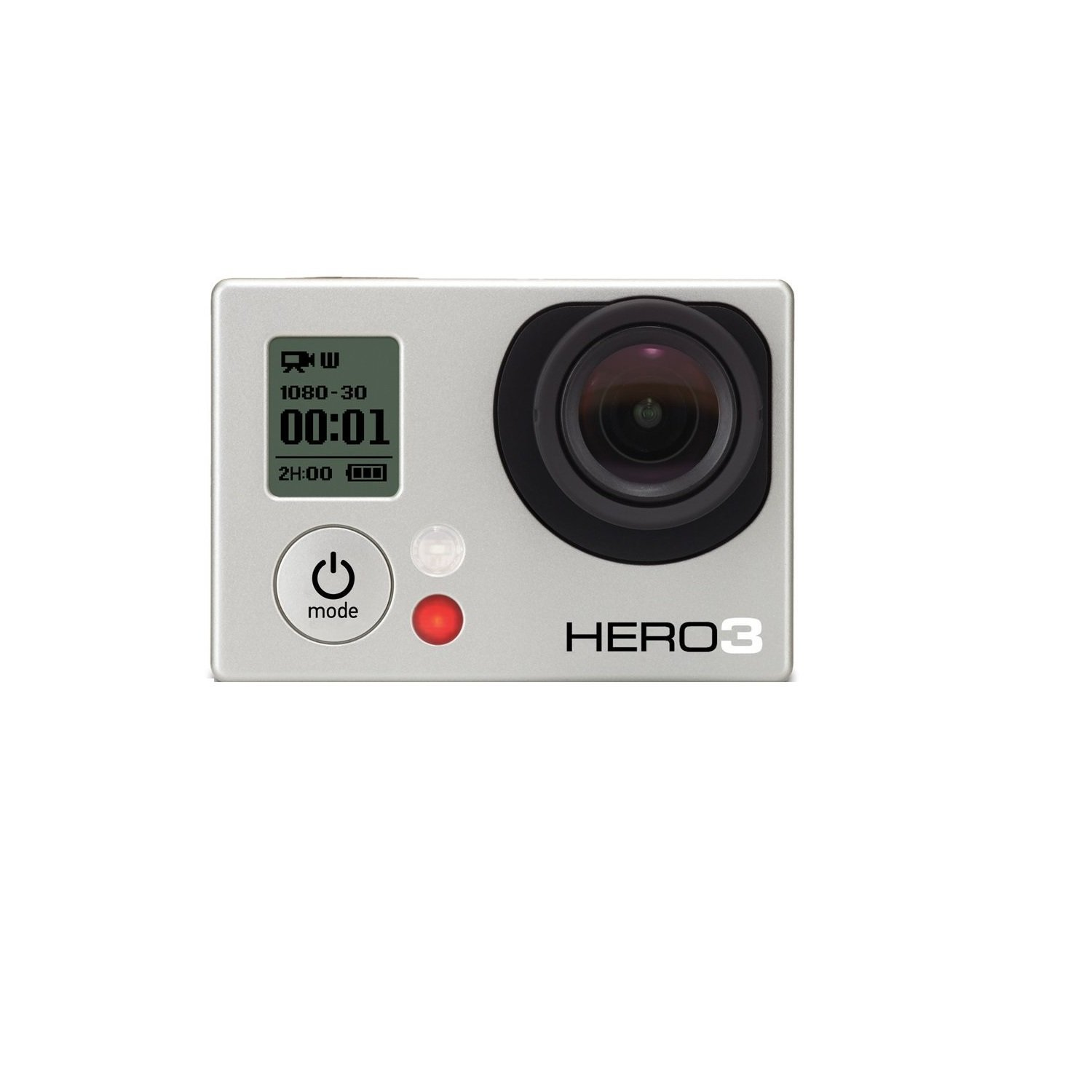 Amazon.com : GoPro HERO3: White Edition - (197'/ 60m Waterproof Housing) : Go  Pro : Camera & Photo