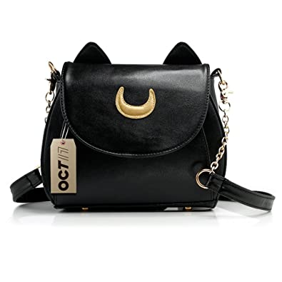 Amazon.com: OCT 17 Women Luxury Handbag Shoulder Bag Moon Tote ...