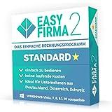 EasyFirma 2 Standard - Rechnungsprogramm für Kleinunternehmer und Handwerker. Rechnungen, Angebote, Kunden- und Artikelverwaltung, ...