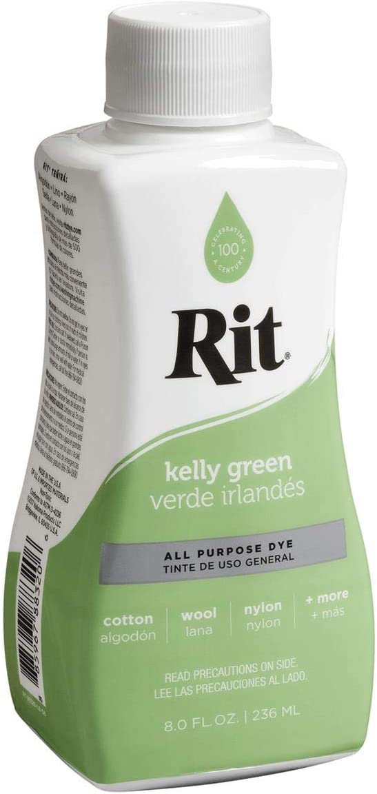 Rit Dye Rit All Purpose Liquid Dye 236ml, Kelly Green