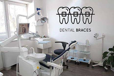 Amazon Com Dental Clinic Wall Decals Decor Dentist Tooth